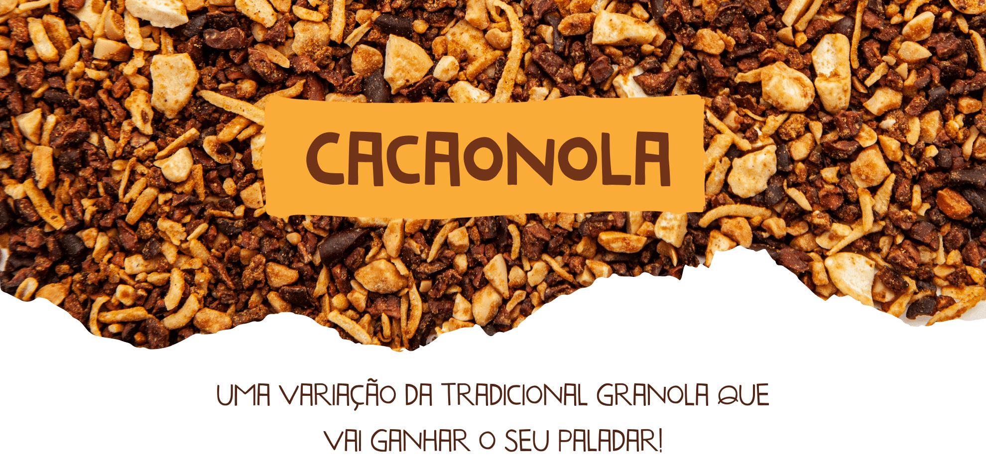 cacaonola cookoa granola