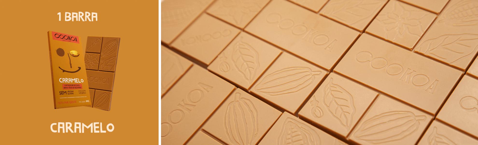 cookoa chocolate caramelo